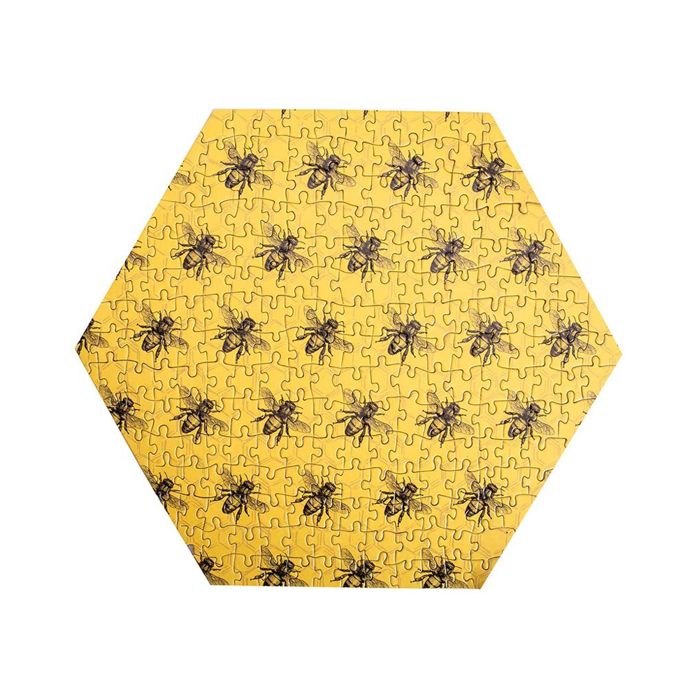 Bee 230 Piece Jigsaw Puzzle Yellow