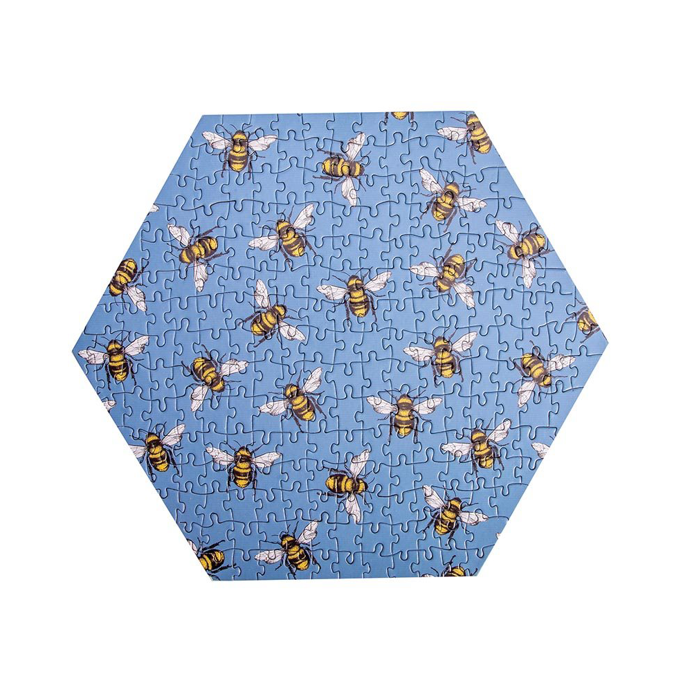 Bee 230 Piece Jigsaw Puzzle Blue