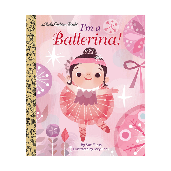 Little Golden Book I'm a Ballerina