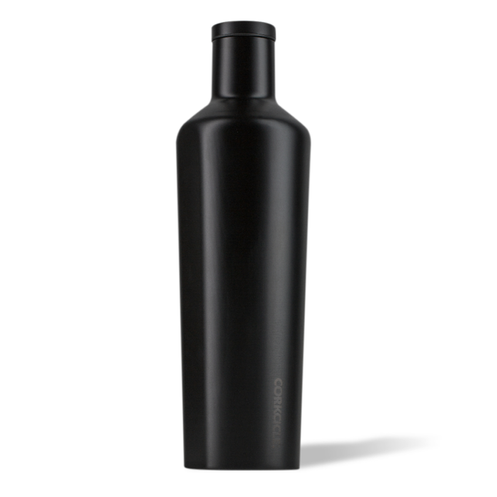 Corkcicle Canteen Drink Bottle 25oz Dipped Black
