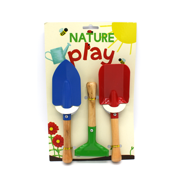 Nature Play Gardening Tools Set of 3