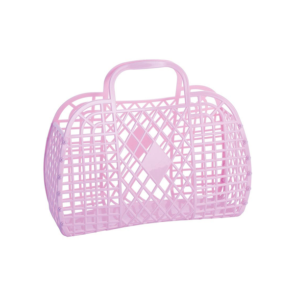 Sun Jellies Retro Basket Lilac