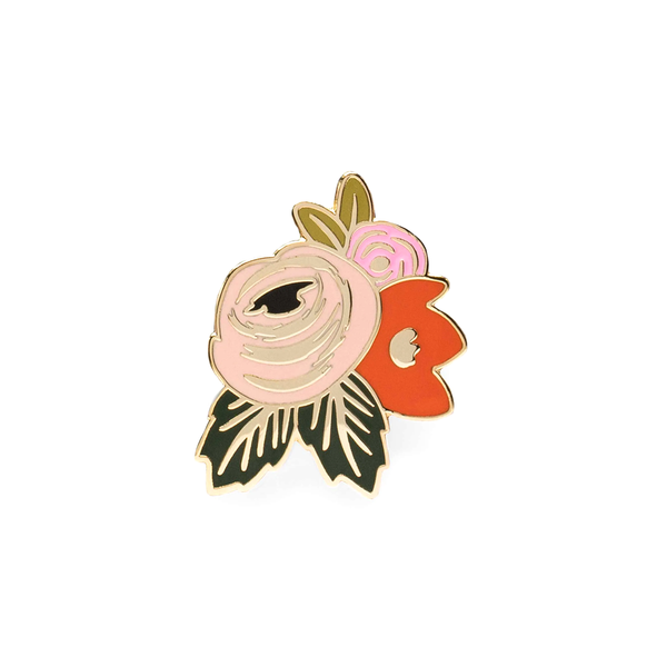 Rifle Paper Co Enamel Pin Rosa