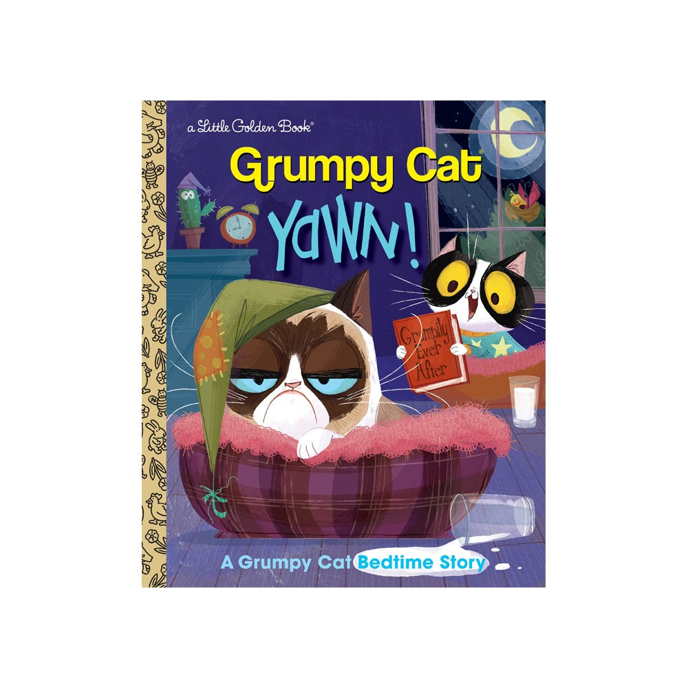 Little Golden Book Grumpy Cat Yawn!