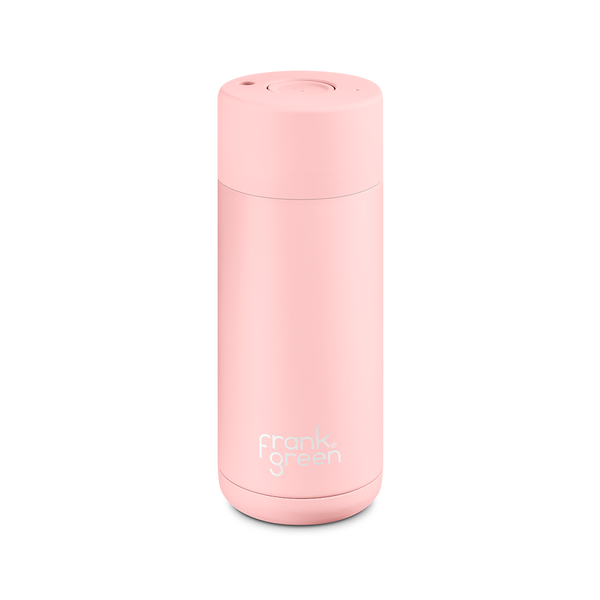 Frank Green Stainless Steel Smart Cup 16oz Blush