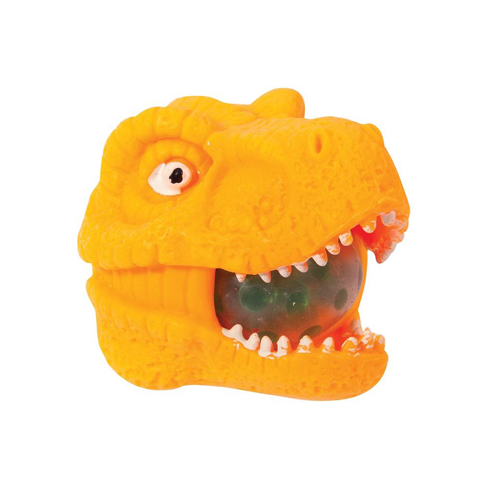 Squish-A-Dino T-Rex Head Assorted