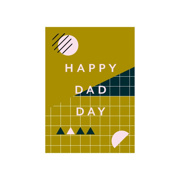 Iko Iko Patterned Card Dad Day