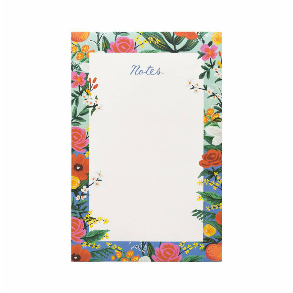 Rifle Paper Co Notepad Orangerie
