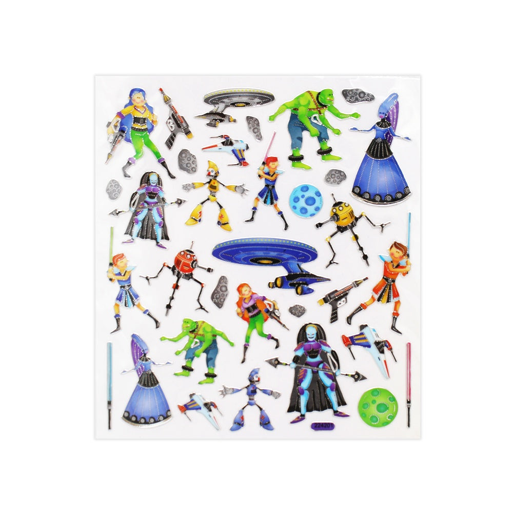 Intergalactic Stickers
