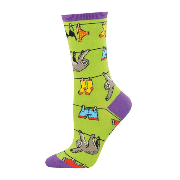 Socksmith Socks Womens Sloth on a Line