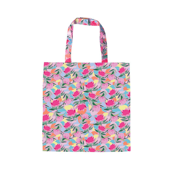 Foldable Shopper Botanical Tote Bag