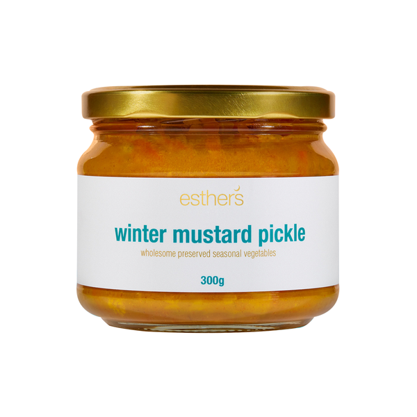 Esther's Mustard Pickle