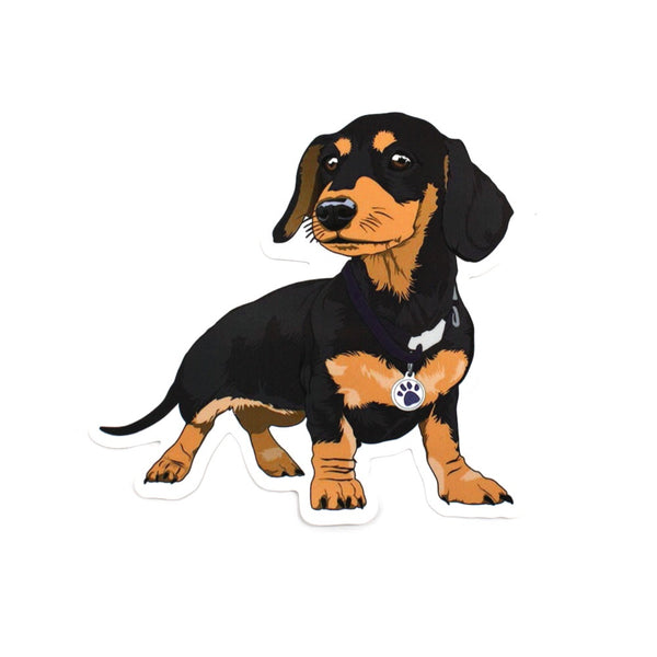 Pro & Hop Sticker Frankie the Sausage Dog