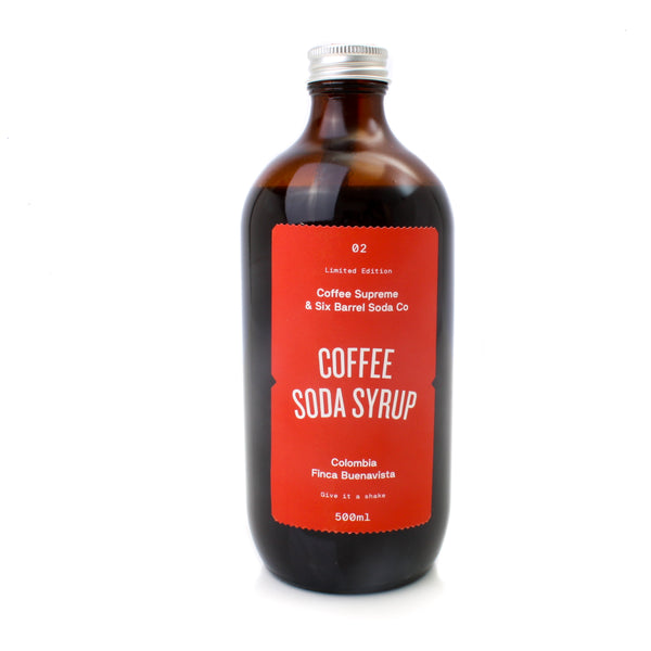 Six Barrel Soda Coffee Syrup