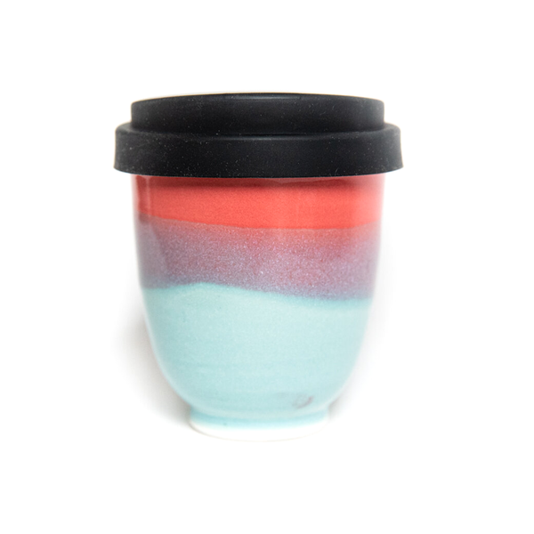 Westcoast Stoneware 8oz Reusable Cup Sunrise