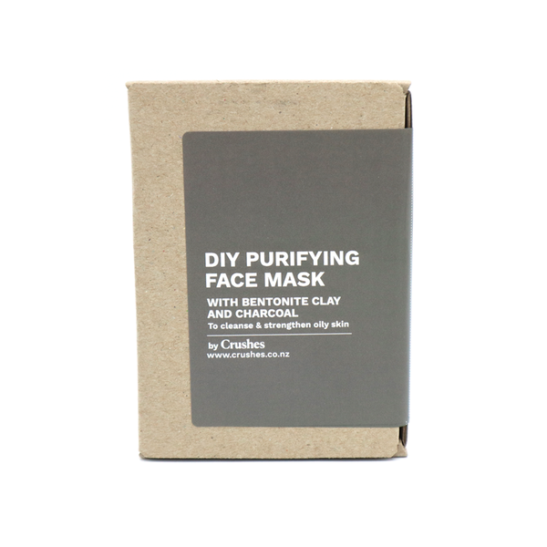 Crushes Face Mask DIY Kit Makes 5 Purifying Charcoal
