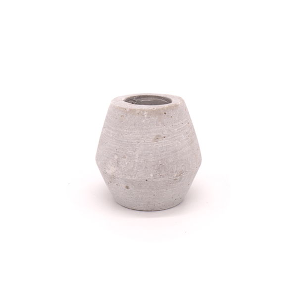 Concrete Candle Holder Diamond Small