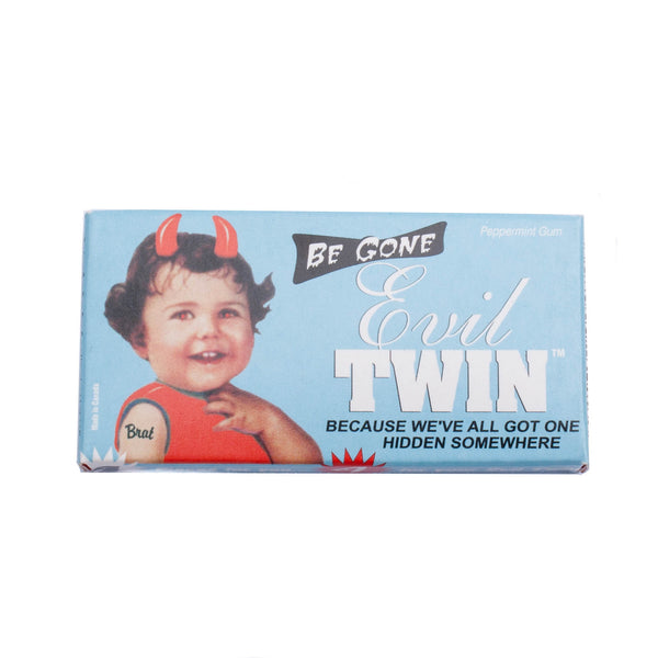 Be Gone Evil Twin Chewing Gum