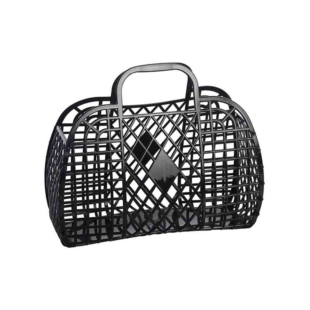 Sun Jellies Retro Basket Black