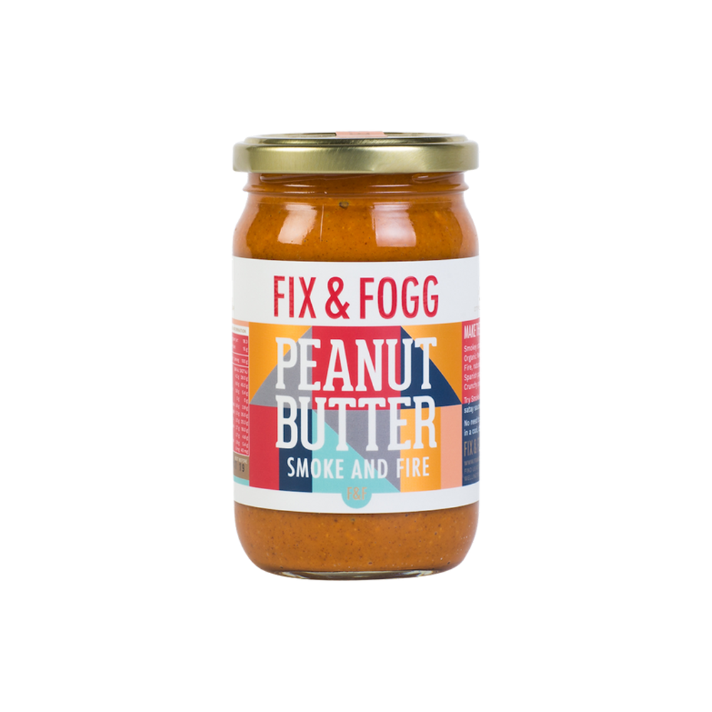 Fix & Fogg Peanut Butter 275g Smoke and Fire