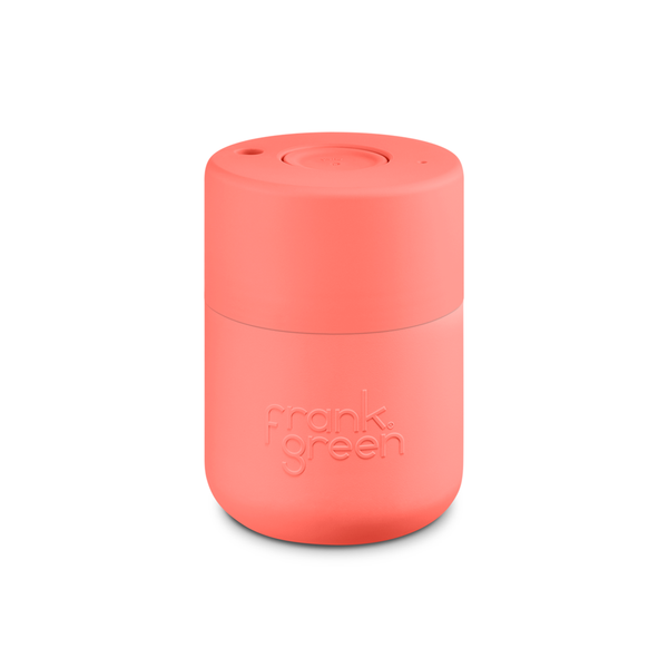 Frank Green Original Reusable Smart Cup 8oz Living Coral