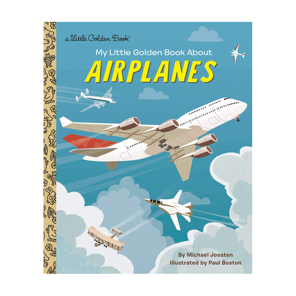 Little Golden Book About Airplanes