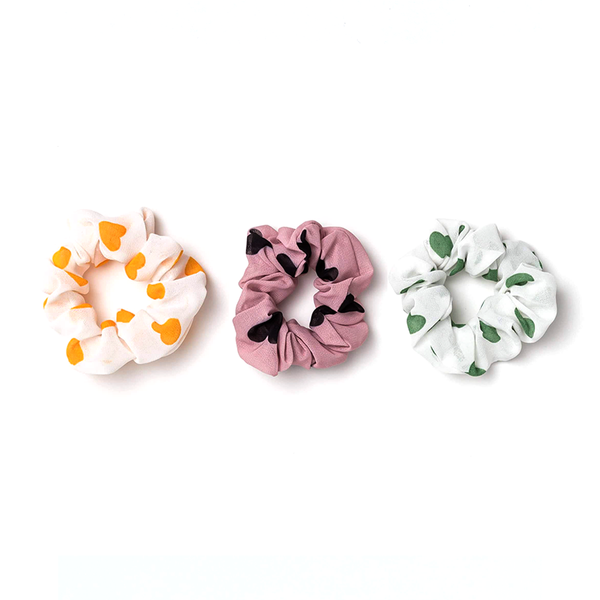 Stella + Gemma Scrunchie Hearts Assorted