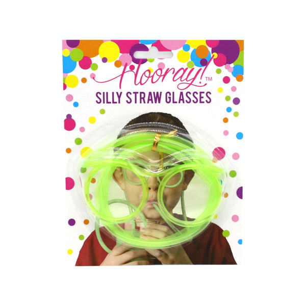 Silly Straw Glasses