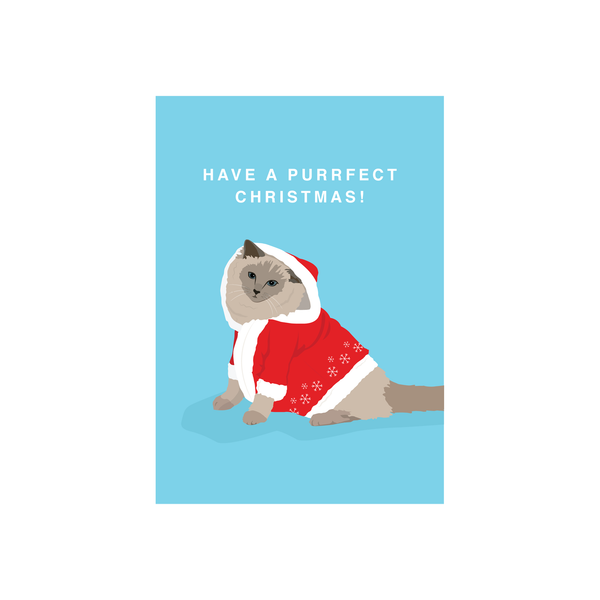Iko Iko Christmas Card Purrfect