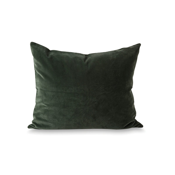 Citta Cotton Velvet Cushion Cover Forest