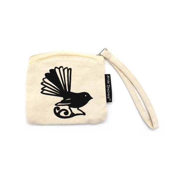 New Zealand Coin Purse Fantail