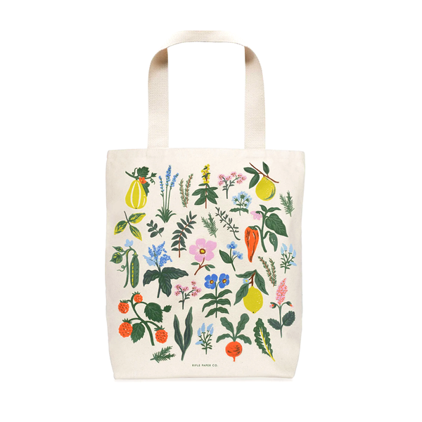 Rifle Paper Co Tote Bag Herb Garden