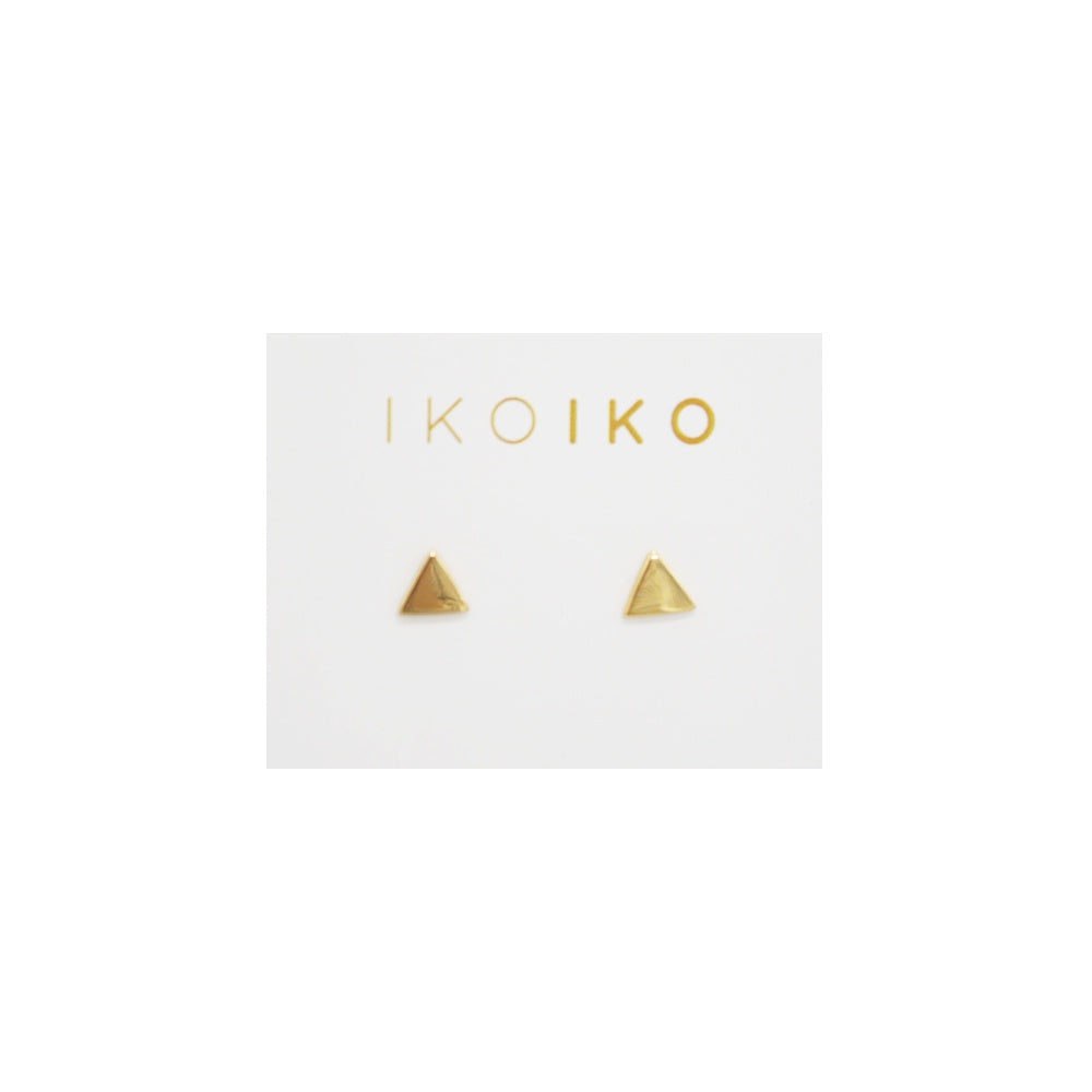 Iko Iko Studs Equilateral Triangle