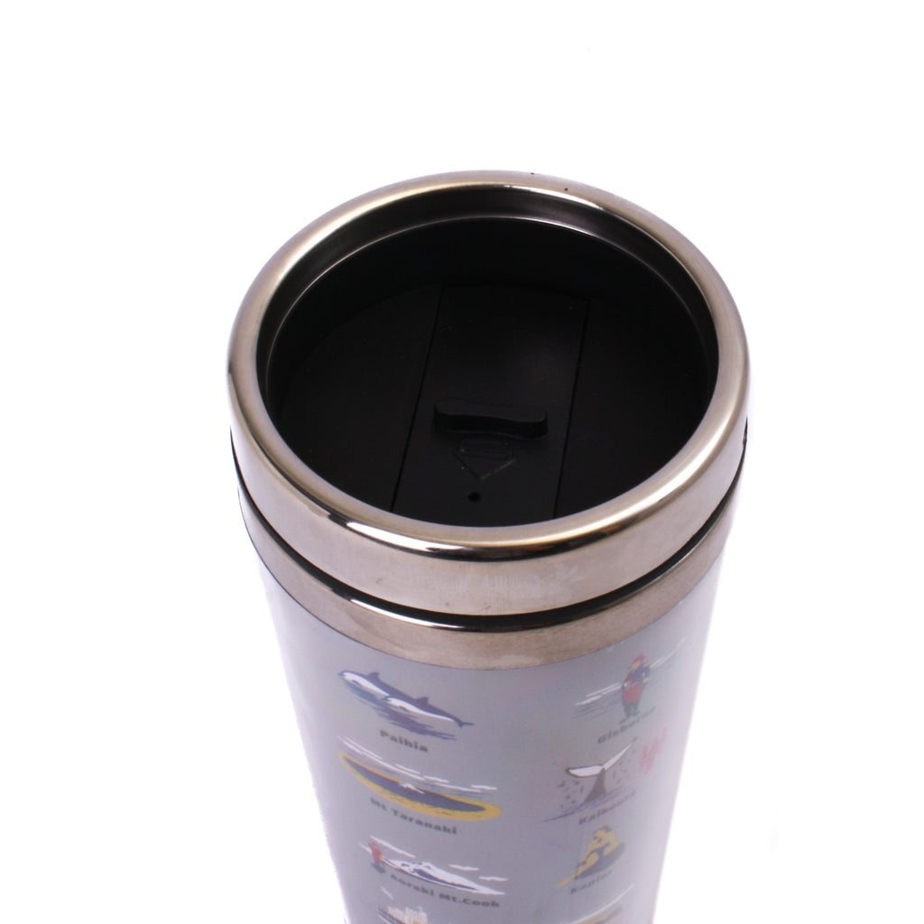 New Zealand Travel Mug Places