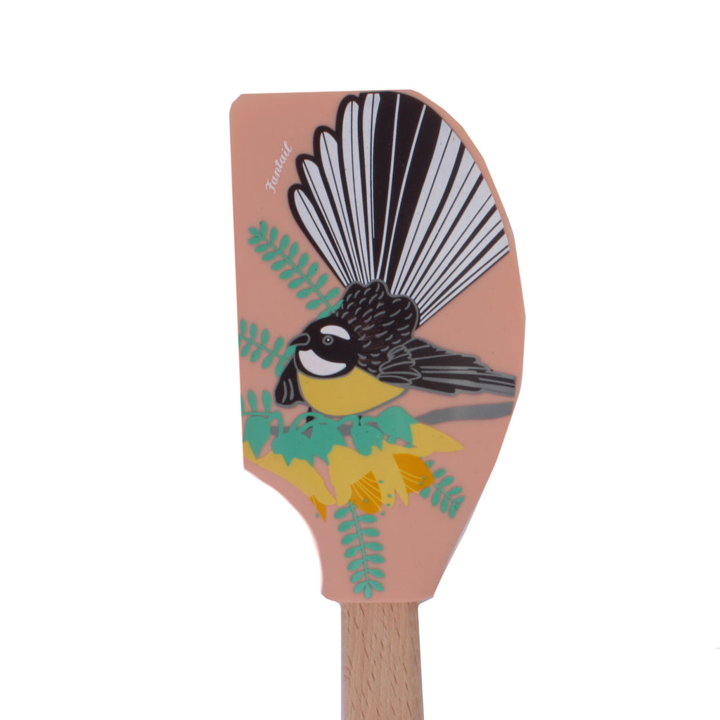 New Zealand Wooden Spatula Fantail