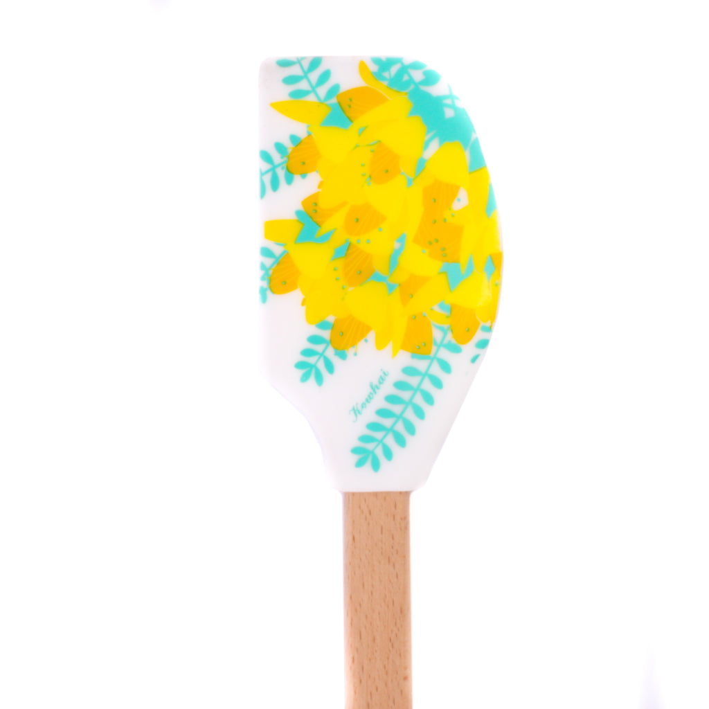 New Zealand Wooden Spatula Kowhai