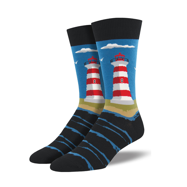 Socksmith Socks Mens Lighthouse