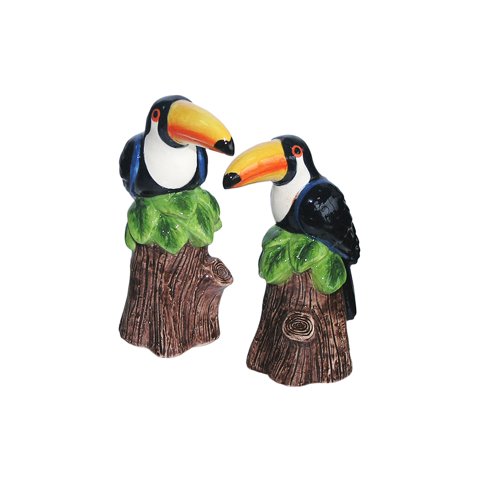 Dakota Toucan Salt and Pepper Shakers