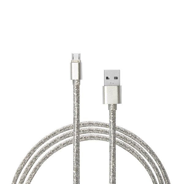 Glitter Charging Cable 8 Pin for iPhone
