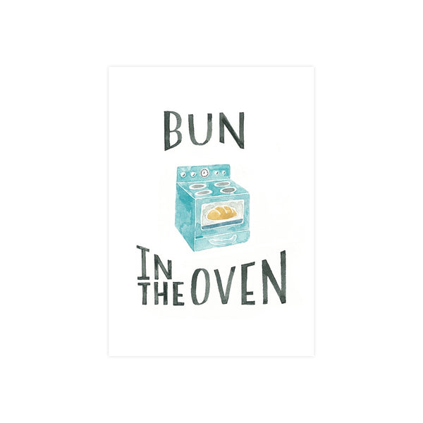Steer Illustrations X Iko Iko Card Bun in the Oven