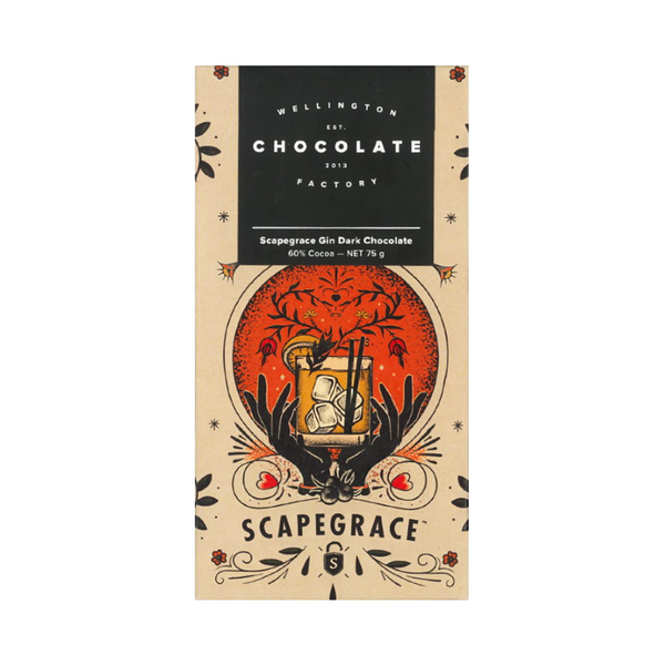 Wellington Chocolate Factory Scapegrace Gin Bar