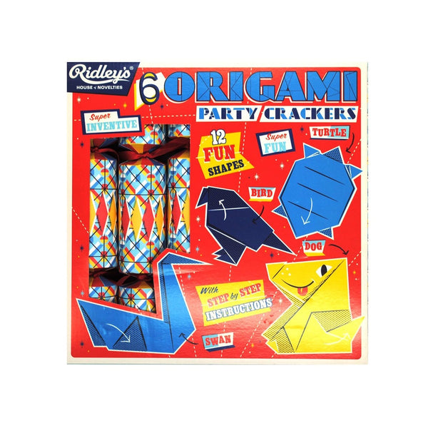 Ridleys Christmas Crackers Origami Set of 6