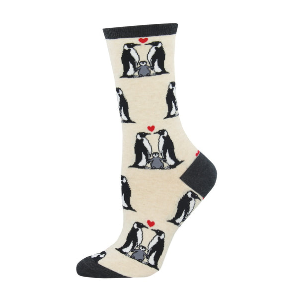Socksmith Socks Womens Penguin Love