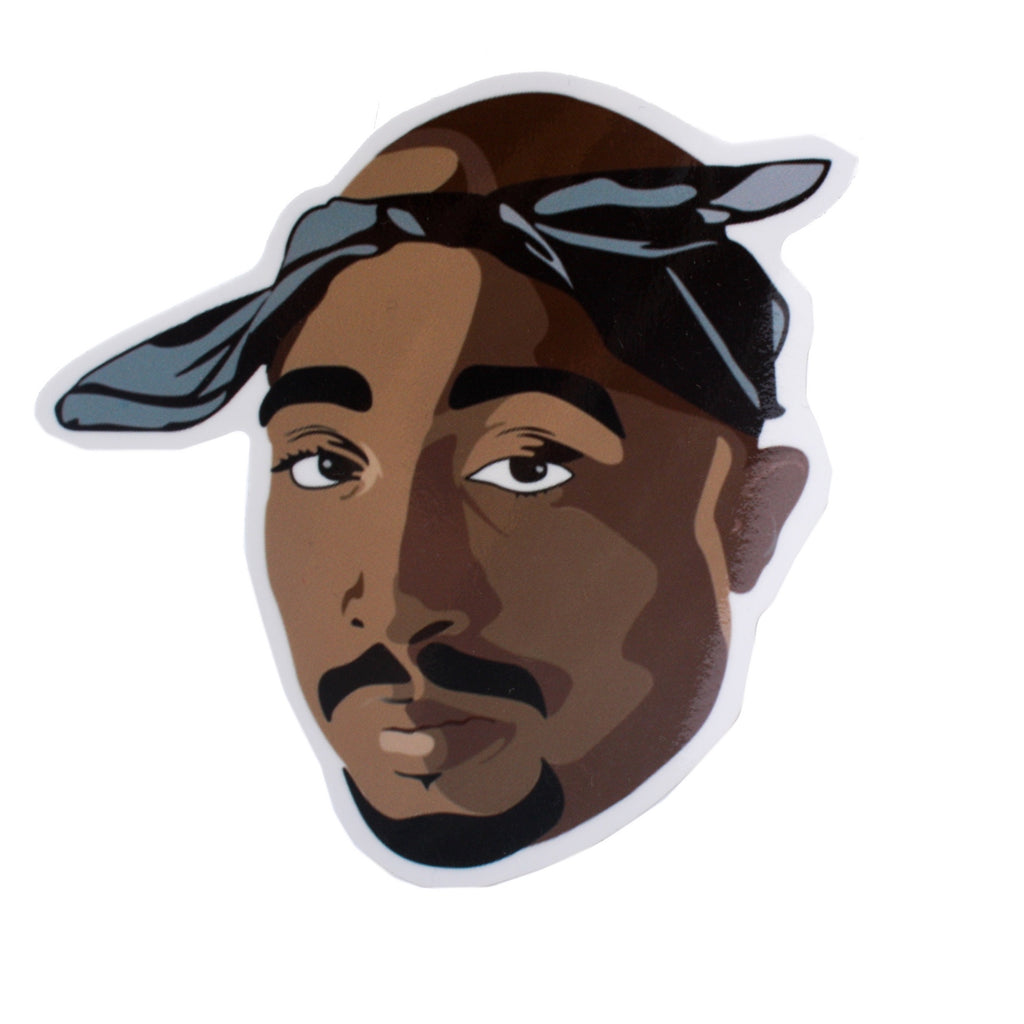 Pro and Hop Sticker 2Pac Chilled