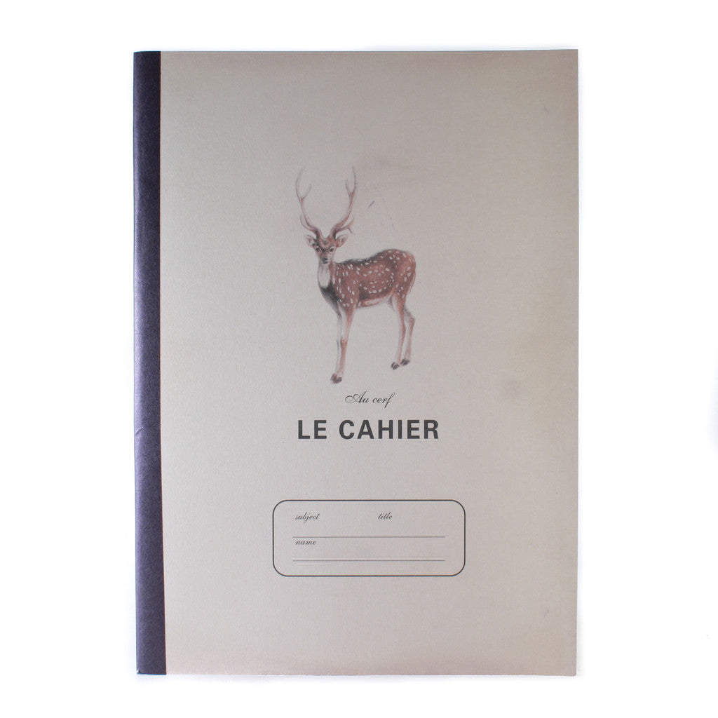 O-Check Notebook Large Deer