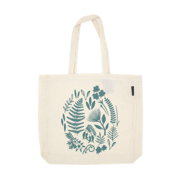 New Zealand Cotton Bag Flora