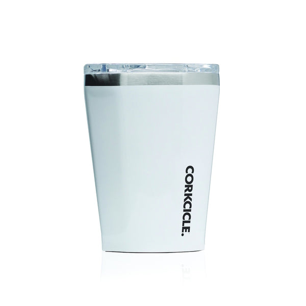 Corkcicle Tumbler 12oz Gloss White