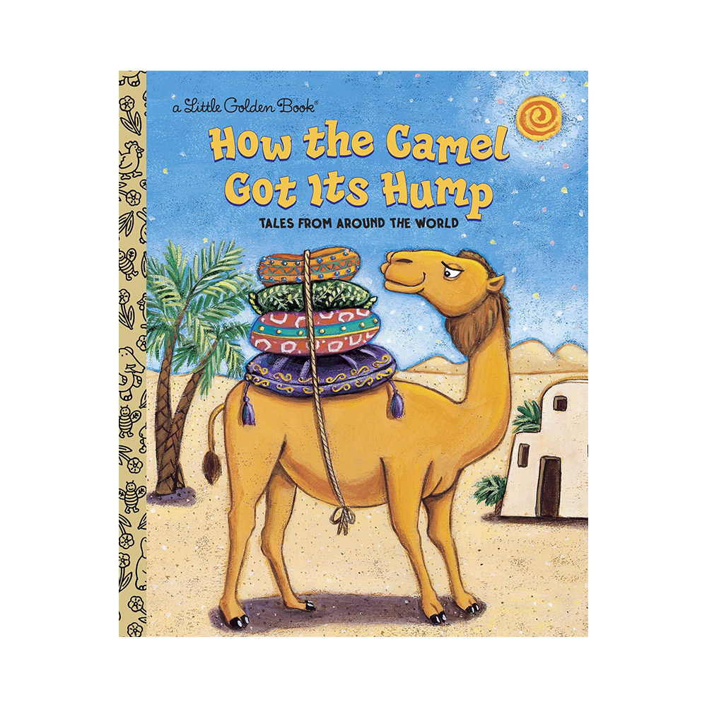 Little Golden Book How the Camel Got its Hump