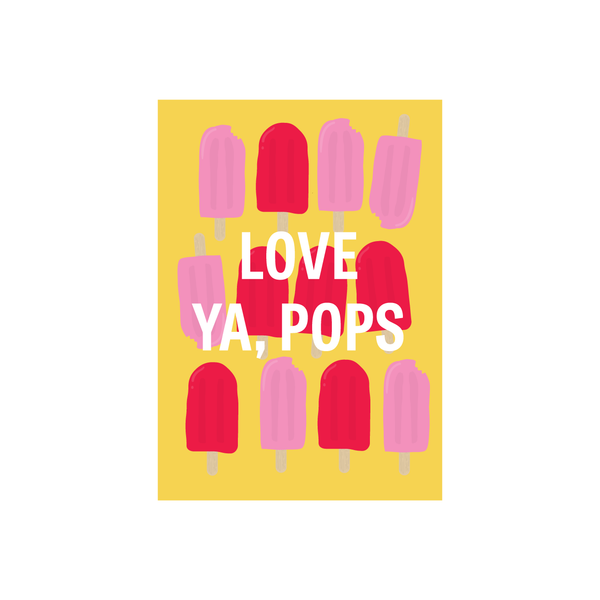 Iko Iko Father's Day Card Pops