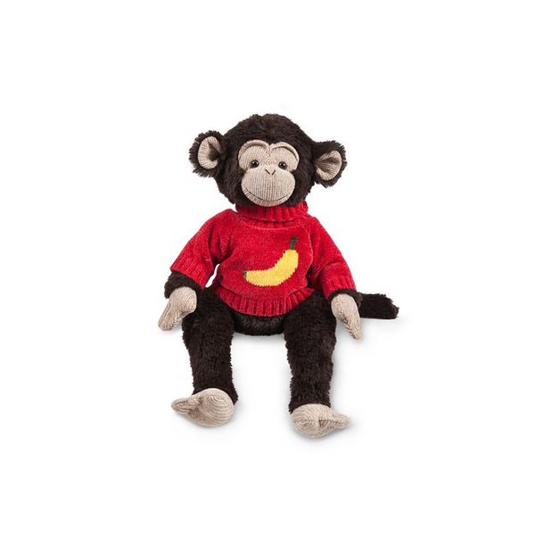 Hungry Monkey with Banana Sweater